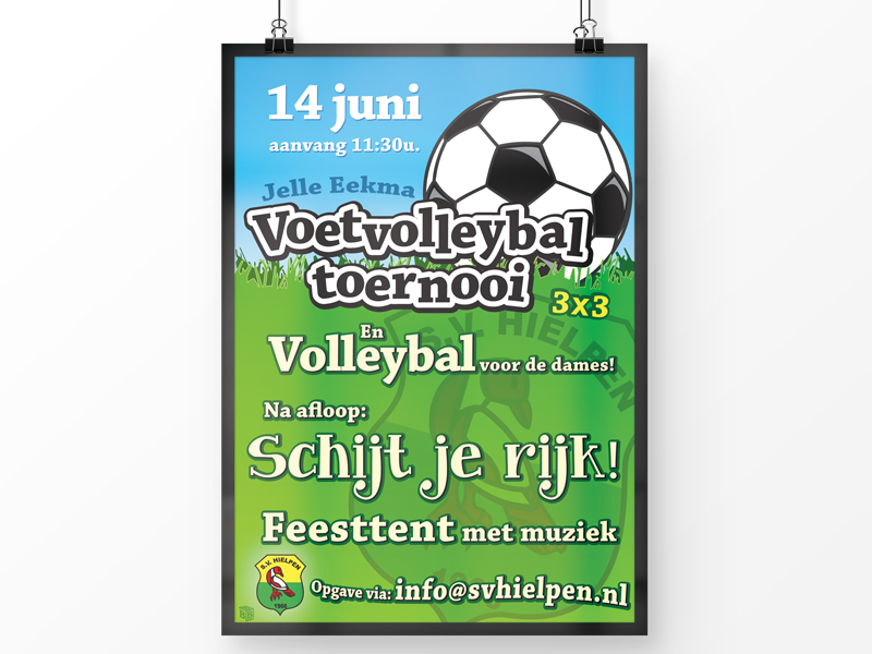 Poster SV Hielpen