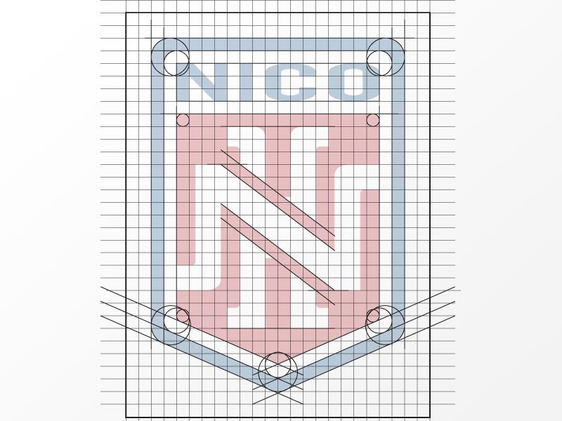 Logo Nico Hernandez boxing grid